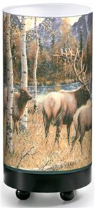 Illumalite Designs Wild Elk Table Lamp