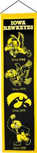 Winning Streak NCAA University of Iowa Banner