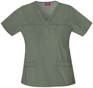 Dickies Women's Youtility V-Neck Scrub Tops