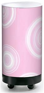 Illumalite Designs Pink Circles Accent Lamp