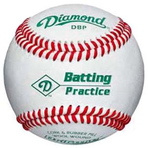 Diamond Batting Practice Baseballs DBP C/O
