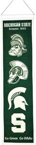 Winning Streak NCAA Michigan State Heritage Banner