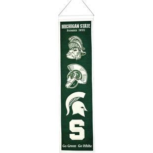 Winning Streak NCAA Michigan State Heritage Banner