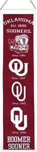 Winning Streak NCAA Oklahoma Univ Heritage Banner