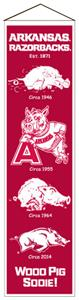Winning Streak NCAA University of Arkansas Banner
