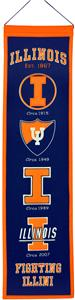 Winning Streak NCAA University of Illinois Banner