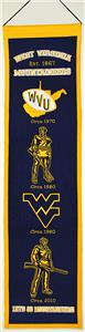 WinningStreak NCAA West Virginia University Banner