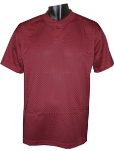 2 Button Henley Mesh Baseball Jerseys-Closeout