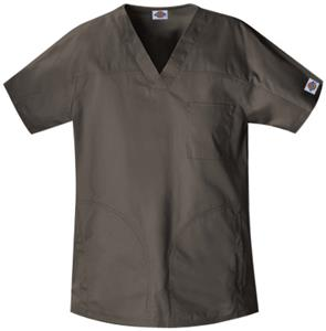 Dickies Unisex Enzyme Washed Yoke Scrub Tops