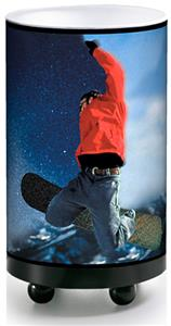 Illumalite Designs Snowboarder Accent Lamp
