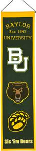 Winning Streak NCAA Baylor University Banner