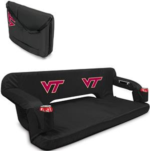 Picnic Time Virginia Tech Hokies Reflex Couch