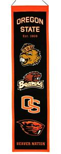 Winning Streak NCAA Oregon State Heritage Banner