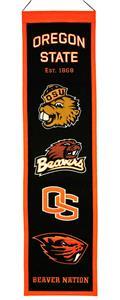 Winning Streak NCAA Oregon State Heritage Banner
