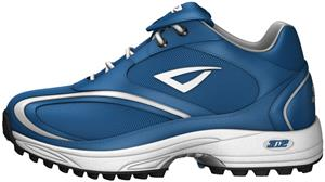 3n2 Momentum Trainer Lo Patent Leather Royal Shoe