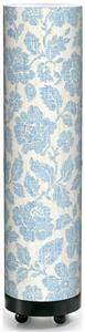 Illumalilte Designs Blue Floral Accent Lamp