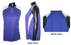 Womens/Girls Sleeveless Racerback Jerseys-Closeout