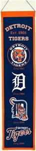 Winning Streak MLB Detroit Tigers Heritage Banner