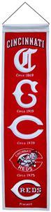 Winning Streak MLB Cincinnati Reds Heritage Banner