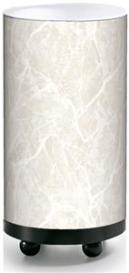 Illumalite Designs White Marbled Accent Lamp