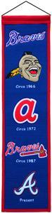 Winning Streak MLB Atlanta Braves Heritage Banner