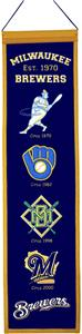 Winning Streak MLB Milwaukee Brewers Banner