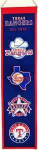 Winning Streak MLB Texas Rangers Heritage Banner