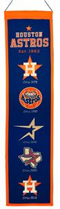 Winning Streak MLB Houston Astros Heritage Banner