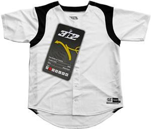 3n2 Full-Button Short Sleeve Baseball Jersey