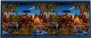 Illumalite Designs Jungle Scene Wall Plaque