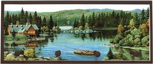 Illumalite Designs Serene Waters Wall Plaque