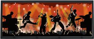 Illumalite Designs Rock Show Wall Plaque