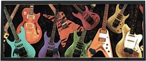 Illumalite Designs Guitar Montage Wall Plaque