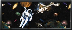 Illumalite Designs Astronauts In Space Wall Plaque