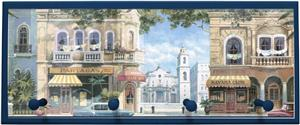 Illumalite Designs Havana Street Scene Wall Plaque