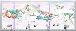 Illumalite Designs Unicorn Carousel Wall Plaque