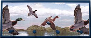 Illumalite Designs Ducks Wall Plaque