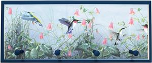 Illumalite Designs Hummingbird Wall Plaque