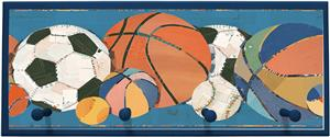Illumalite Designs Sports Balls Wall Plaque