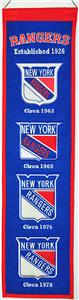 WinningStreak NHL New York Rangers Heritage Banner
