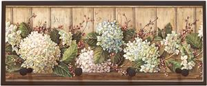 Illumalite Designs Hydrangea Shelf Wall Plaque