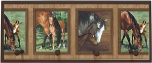 Illumalite Designs Mare &amp; Foal Wall Plaque