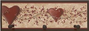 Illumalite Designs Hearts &amp; Vine Wall Plaque