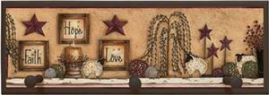 Illumalite Designs Faith Hope Love Wall Plaque