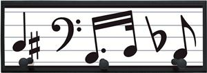 Illumalite Designs Music Wall Plaque