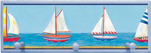 Illumalite Designs Sailboats Wall Plaque