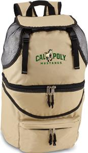 Picnic Time Cal Poly Mustangs Zuma Backpack
