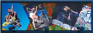 Illumalite Designs Skateboarding Wall Plaque