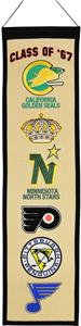 Winning Streak Class of &#39;67 NHL Heritage Banner