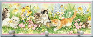 Illumalite Designs Playful Kittens Wall Plaque